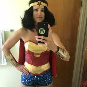 Wonder Woman vintage costume
